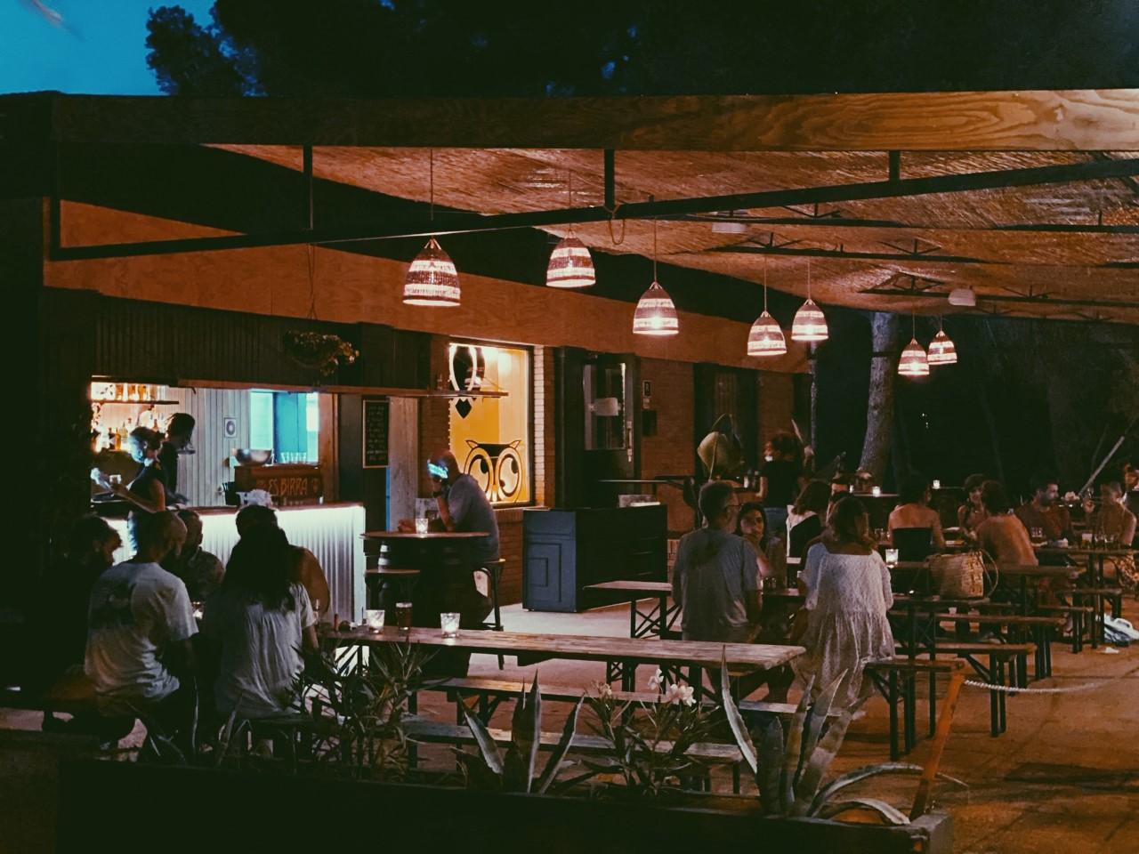 Restaurante de Ibiza